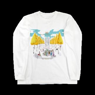 H.R.M.SUZURIのHRM KARAKUCHI MUG Long sleeve T-shirts