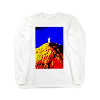 YAMA KUMA Long sleeve T-shirts