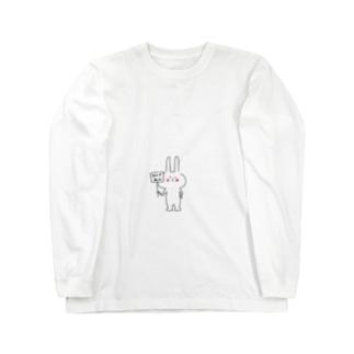 花子 Long sleeve T-shirts