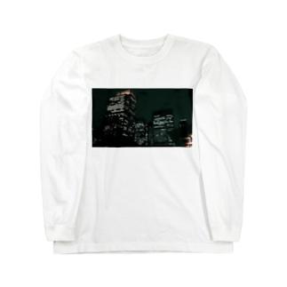 Tokyo night Long sleeve T-shirts