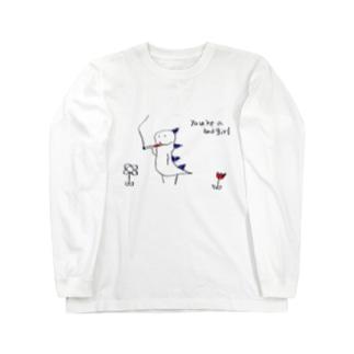 喫煙怪獣 Long sleeve T-shirts