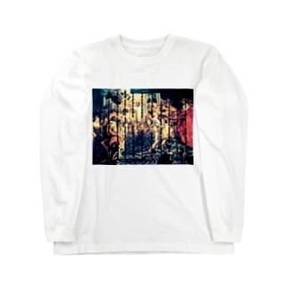 個性派ファッション Long sleeve T-shirts