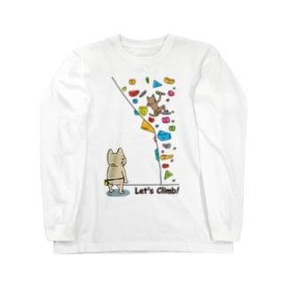 Let's Climb! Long sleeve T-shirts