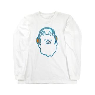 まっくすらぶりーヘッドホン Long sleeve T-shirts