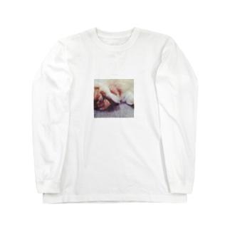 うさぎのももちゃん 2 Long sleeve T-shirts