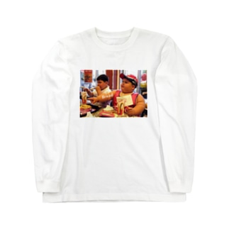 食いしん坊 Long sleeve T-shirts