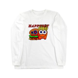 ハッピーセット Long sleeve T-shirts