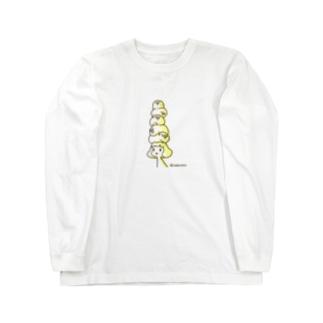 肩こり Long sleeve T-shirts