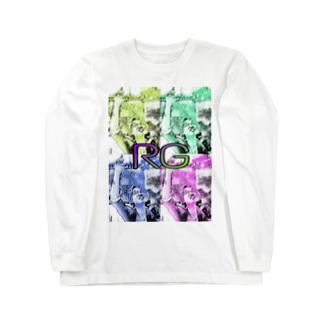 鬼瓦®️ Long sleeve T-shirts