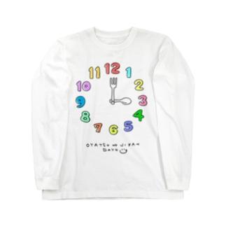 OYATSUNOJIKAN Long sleeve T-shirts