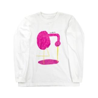 いろみをのむ Long sleeve T-shirts