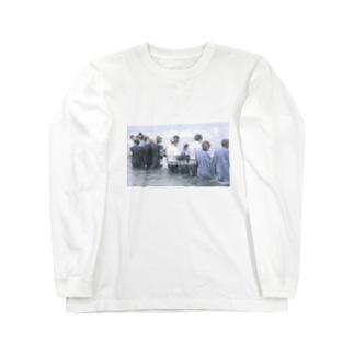 1997zinc ・sodium・potassium Long sleeve T-shirts