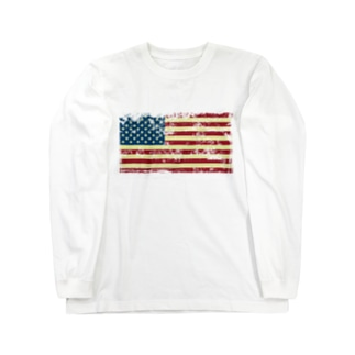 星条旗デザイン Long sleeve T-shirts