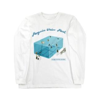 ペンギンプールへようこそ! Long sleeve T-shirts