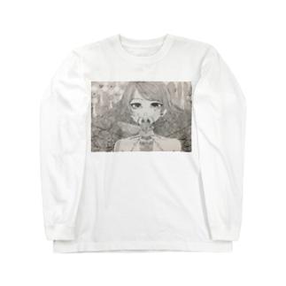 蜂の巣 Long sleeve T-shirts
