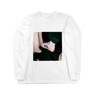 くつ Long sleeve T-shirts