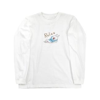 Relaxなウー Long sleeve T-shirts