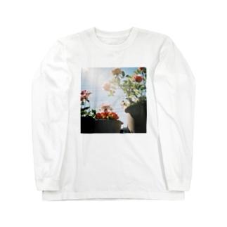春を待ちきれない Long sleeve T-shirts