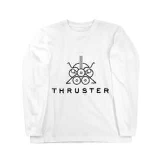 THRUSTER(Black) Long sleeve T-shirts