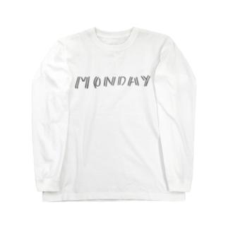 monday (にじゅう) Long sleeve T-shirts