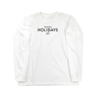 SHIMODA HOLIDAYS Long sleeve T-shirts