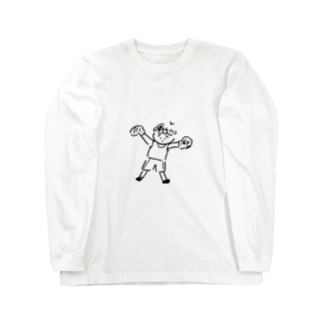 A&Aのぼくさー Long sleeve T-shirts