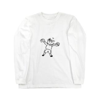 ぼくさー Long sleeve T-shirts