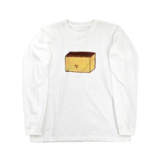 カステラ Long sleeve T-shirts