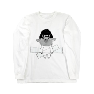 I.gasu sheep【アイガス】 Long sleeve T-shirts