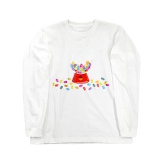 AURA_HYSTERICAのJELLY_BEANS Long sleeve T-shirts