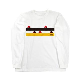 CAR ver.2(イエロー/ブラック) Long sleeve T-shirts
