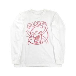怒りのマル赤系 Long sleeve T-shirts