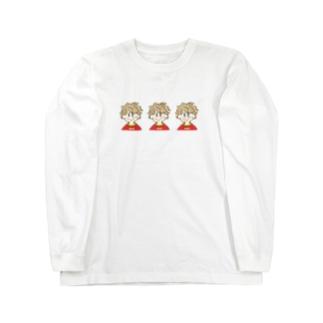 心の中に、いつもさみつこず Long sleeve T-shirts