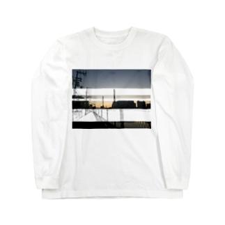 近所 Long sleeve T-shirts