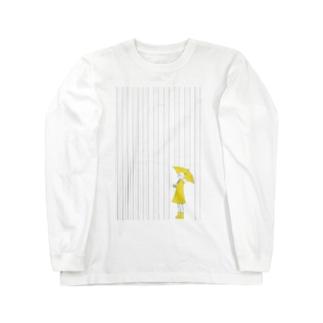 ohanのrainy-rainy Long sleeve T-shirts