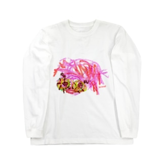 Bugs series -spider- Long sleeve T-shirts
