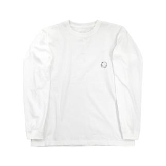 ワンポイントぱんちゃん「イェア」 Long sleeve T-shirts