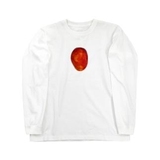 冷たくて美味しいマンゴー Long sleeve T-shirts
