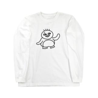 ペンギン Long sleeve T-shirts