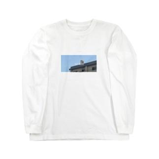 すかいぶるう Long sleeve T-shirts