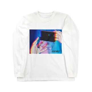 Cassette tape Long sleeve T-shirts