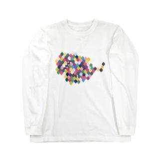 ずぅんのふわふわしたけもの Long sleeve T-shirts
