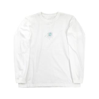 私の好きなモノの目海月 Long sleeve T-shirts