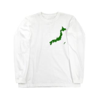 ニホンノカタチ Long sleeve T-shirts