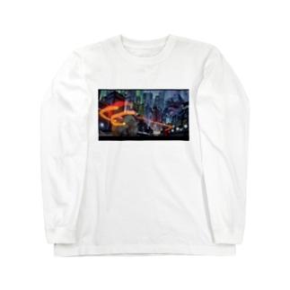 いいかんじ Long sleeve T-shirts