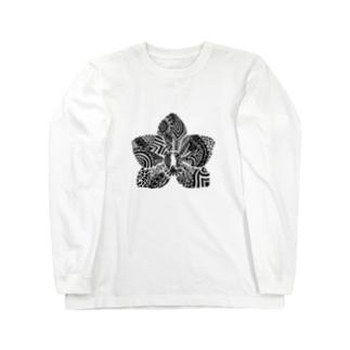 胡蝶蘭 Long sleeve T-shirts