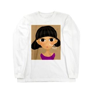 Bob Girl Long sleeve T-shirts