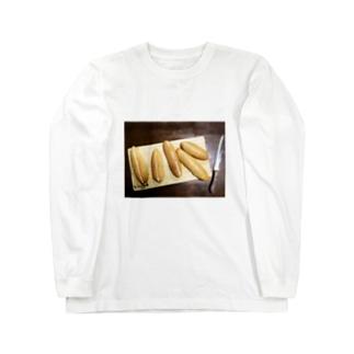 ✒︎   H a r u k a.のぱんぱんぱぱぱん Long sleeve T-shirts