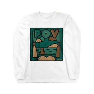 PoV【カモフラ】 Long sleeve T-shirts