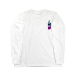 AllOKのMURASAKI Long sleeve T-shirts